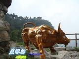 玻璃钢动物雕塑玻璃钢牛雕塑玻璃钢华尔街牛雕塑