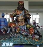 玻璃钢神像武财神骑虎财神